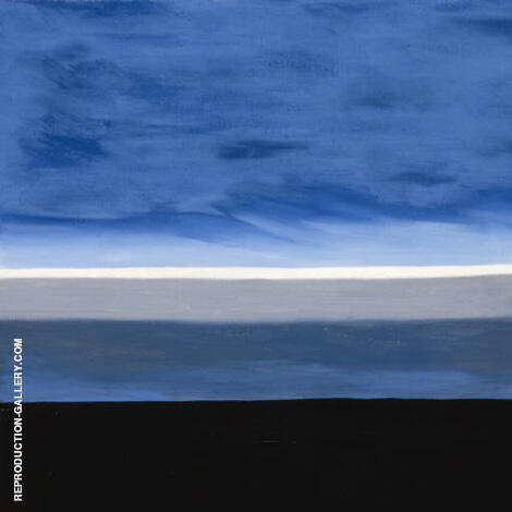 Blue Skies square By Mark Rothko (Inspired By)