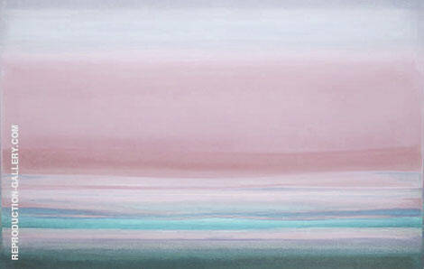 Landscape Sunrise By Mark Rothko (Inspired By)