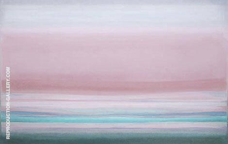 Landscape Sunrise By Mark Rothko (Inspired By)
