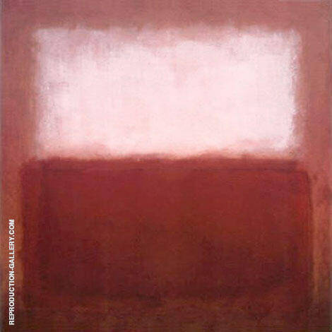 Browns with White By Mark Rothko (Inspired By)