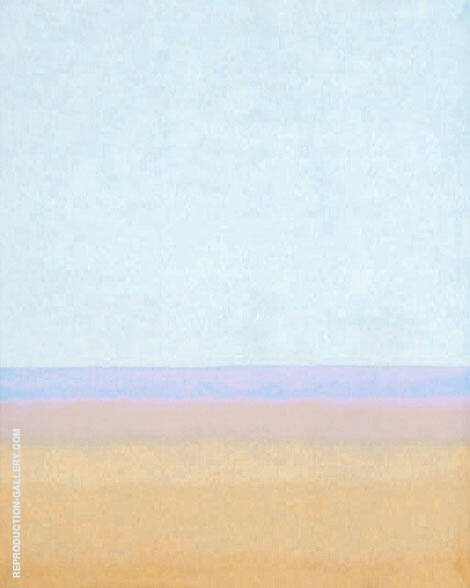 Sand and Sky By Mark Rothko (Inspired By)