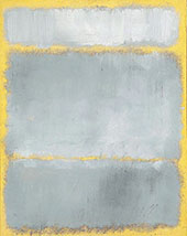 Gray and Yellow By Mark Rothko (Inspired By)