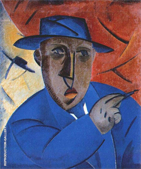 Portrait of The Artist Painting By Vladimir Tatlin - Reproduction Gallery