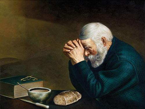 Grace - Last Prayer By Eric Enstrom