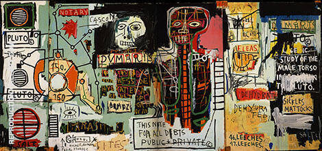 Notary 1983 By Jean-Michel-Basquiat