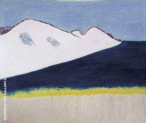 Dark Inlet 1963 By Milton Avery