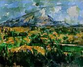 Mont Sainte-Victoire 1902-04 By Paul Cezanne