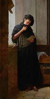Longing Suadade 1899 By Jose Ferraz de Almeida Junior