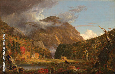 A View of The Mountain Pass Called The Notch of The White Mountains 1839 By Thomas Cole