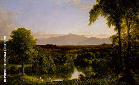 Early Autumn Painting By Thomas Cole - Reproduction Gallery
