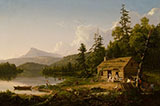 Home in The Woods 1847 By Thomas Cole