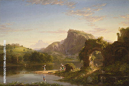 L'Allegro By Thomas Cole