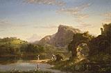 L'Allegro By Thomas Cole