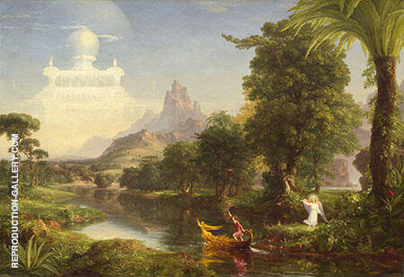 The Ages of Life Youth By Thomas Cole