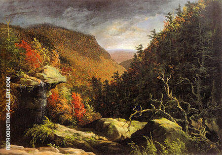 The Clove Catskills By Thomas Cole
