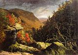 The Clove Catskills By Thomas Cole