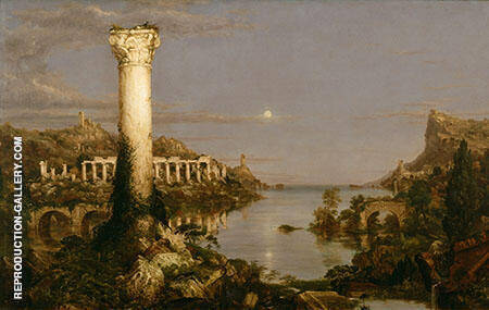 The Course of Empire Desolation 1836 By Thomas Cole