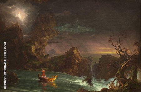 The Voyage of Life 1842 By Thomas Cole