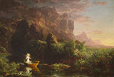 The Voyage of Life Childhood 1842 By Thomas Cole