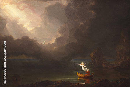 The Voyage of Life Old Age 1842 By Thomas Cole