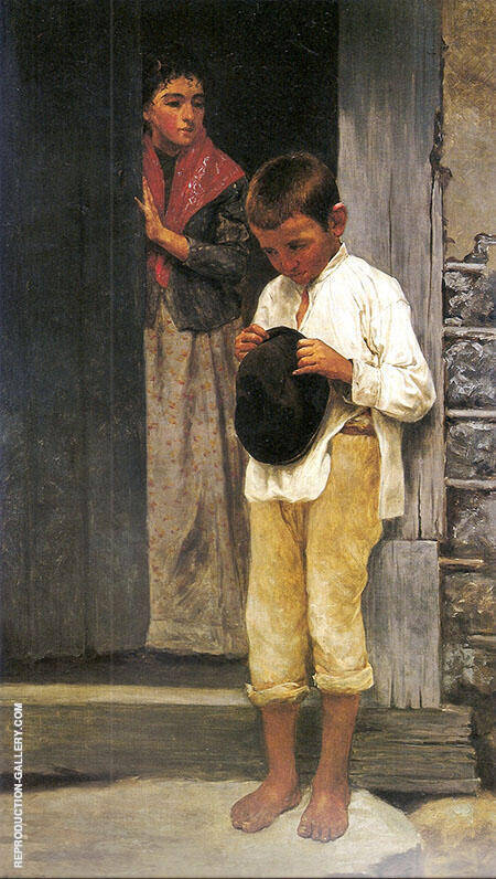 A Difficult Errand 1895 By Jose Ferraz de Almeida Junior