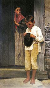 A Difficult Errand 1895 By Jose Ferraz de Almeida Junior