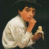 Boy with a Banana By Jose Ferraz de Almeida Junior