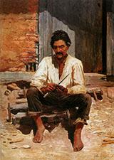 Caipira Picando Fumo 1893 By Jose Ferraz de Almeida Junior