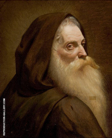 Capuchin Monk 1874 By Jose Ferraz de Almeida Junior