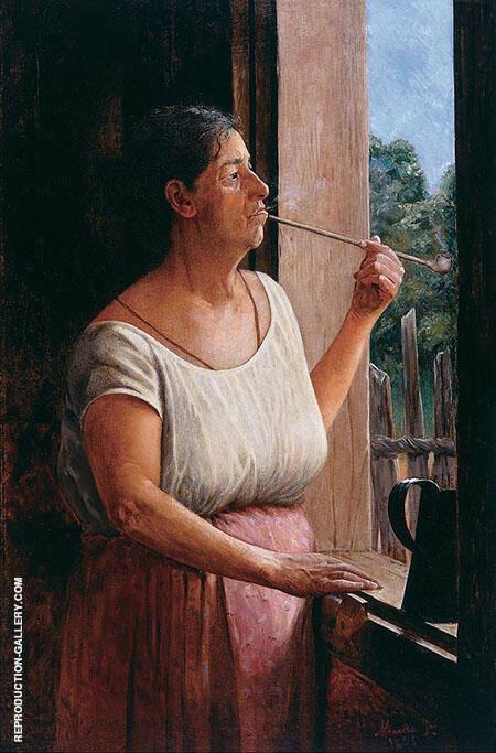Nha Chica 1895 By Jose Ferraz de Almeida Junior