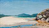 Seascape Guaruja 1895 By Jose Ferraz de Almeida Junior