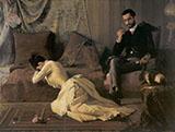 The Spat 1887 By Jose Ferraz de Almeida Junior