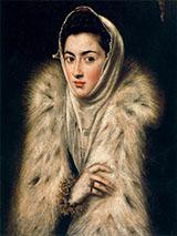 Lady in Fur By El Greco