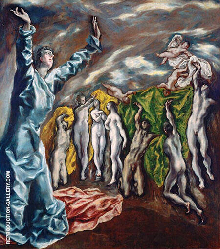 Opening of The Fifth Seal By El Greco