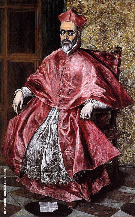 Portrait of a Cardinal By El Greco