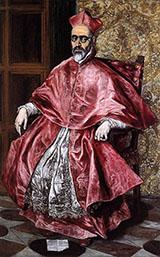 Portrait of a Cardinal By El Greco
