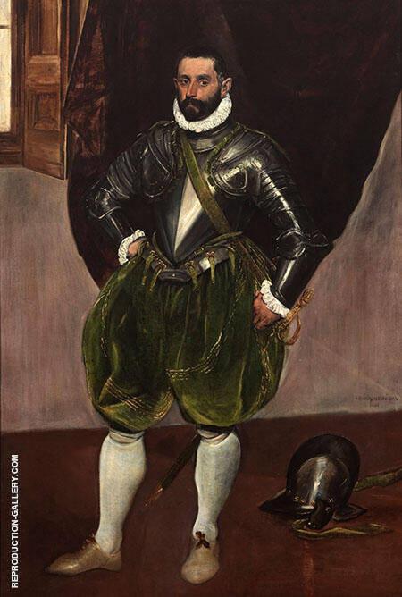 Vincenzo Anastagi 1575 By El Greco