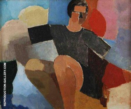 Le Rameur By Roger de La Fresnaye