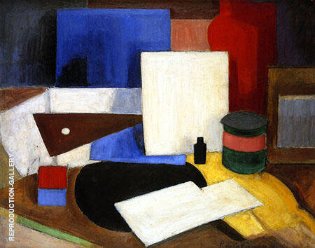 Still Life with Bracket By Roger de La Fresnaye