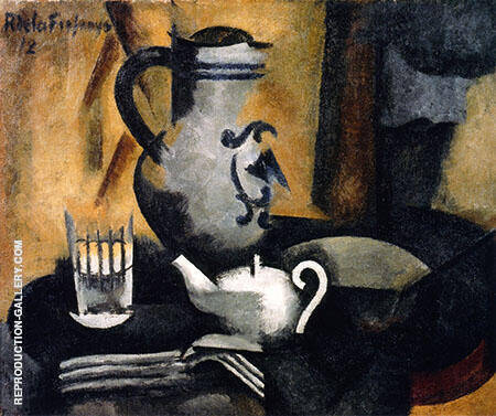 Still Life with Teapot By Roger de La Fresnaye