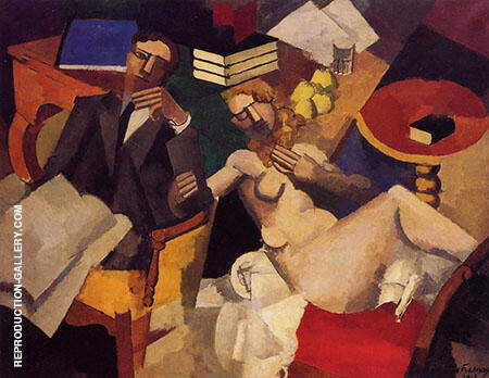 The Athenaeum Married Life By Roger de La Fresnaye