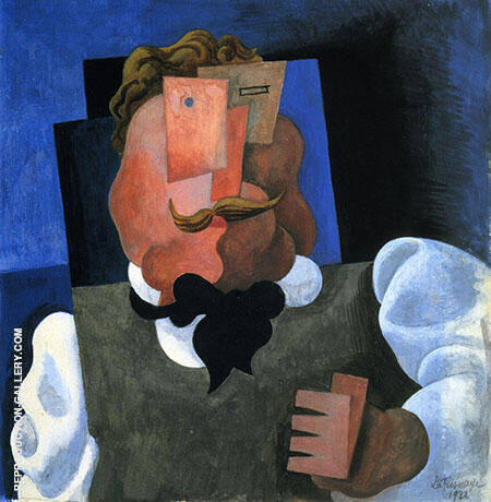 The Blonde Man By Roger de La Fresnaye