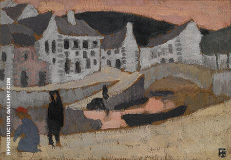 The Canal Brittany By Roger de La Fresnaye