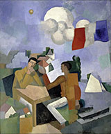 The Conquest of The Air 1913 By Roger de La Fresnaye