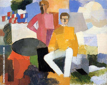 The Fourteenth of July 1914 By Roger de La Fresnaye