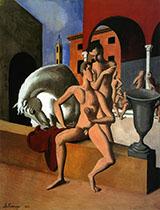 The Grooms By Roger de La Fresnaye