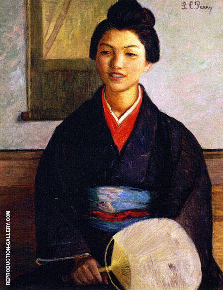 Japanese Girl 1899 By Lilla Cabot Perry