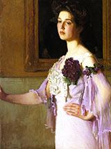 Mrs Joseph Clark Grew Alice Perry Grew 1904 By Lilla Cabot Perry