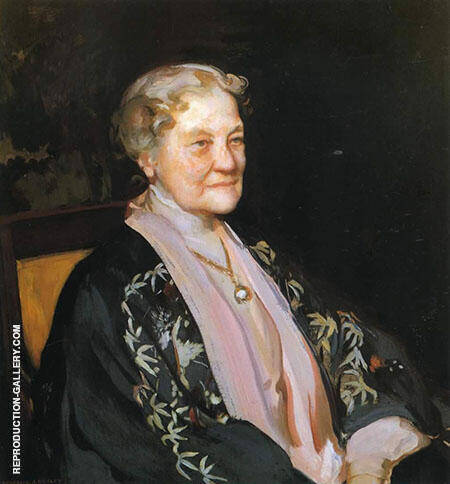 Portrait Lilla Cabot Perry By Lilla Cabot Perry