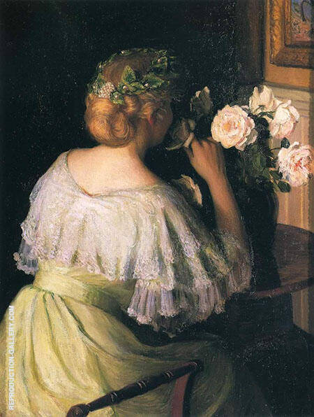 Roses Painting By Lilla Cabot Perry - Reproduction Gallery